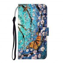 RMPACK Samsung Galaxy A41 Notesz Tok Bankkártyatartóval Mintás -RMPACK- HappyYear A01