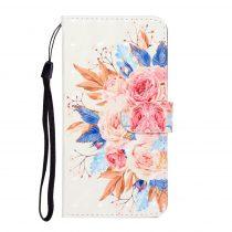 RMPACK Samsung Galaxy A41 Notesz Tok Bankkártyatartóval Mintás -RMPACK- HappyYear A03