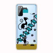 RMPACK Samsung Galaxy A41 Szilikon Tok Mintás TPU HappySeries CS03
