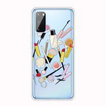 RMPACK Samsung Galaxy A41 Szilikon Tok Mintás TPU HappySeries CS06