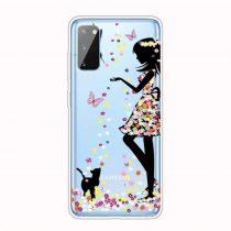 RMPACK Samsung Galaxy A41 Szilikon Tok Mintás TPU HappySeries CS10