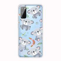 RMPACK Samsung Galaxy A41 Szilikon Tok Mintás TPU HappySeries CS15