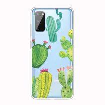 RMPACK Samsung Galaxy A41 Szilikon Tok Mintás TPU HappySeries CS17