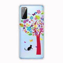 RMPACK Samsung Galaxy A41 Szilikon Tok Mintás TPU HappySeries CS18