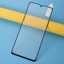 Samsung Galaxy A41 Képernyővédő Üveg Tempered Glass Full Size Fekete