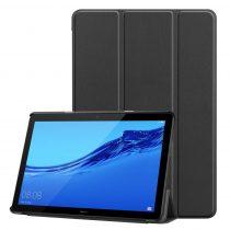 RMPACK Huawei MediaPad T5 10 Tok Notesz Kitámasztható Tri-Fold Fekete