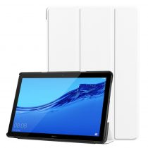 RMPACK Huawei MediaPad T5 10 Tok Notesz Kitámasztható Tri-Fold Fehér