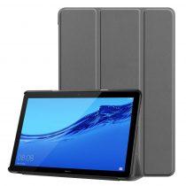 RMPACK Huawei MediaPad T5 10 Tok Notesz Kitámasztható Tri-Fold Szürke