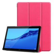 RMPACK Huawei MediaPad T5 10 Tok Notesz Kitámasztható Tri-Fold Pink