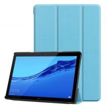 RMPACK Huawei MediaPad T5 10 Tok Notesz Kitámasztható Tri-Fold Világoskék