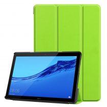 RMPACK Huawei MediaPad T5 10 Tok Notesz Kitámasztható Tri-Fold Zöld