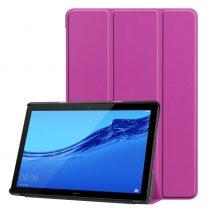 RMPACK Huawei MediaPad T5 10 Tok Notesz Kitámasztható Tri-Fold Lila