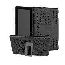 RMPACK Huawei MediaPad T5 10 Ütésálló Tok Kitámasztható Funkcióval 2in1 PC TPU Series Fekete