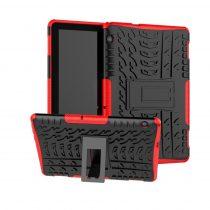 RMPACK Huawei MediaPad T5 10 Ütésálló Tok Kitámasztható Funkcióval 2in1 PC TPU Series Piros