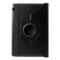RMPACK Huawei MediaPad T5 10 Notesz Tok Forgatható 360' Kitámasztható Fekete