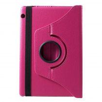 RMPACK Huawei MediaPad T5 10 Notesz Tok Forgatható 360' Kitámasztható Pink