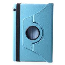 RMPACK Huawei MediaPad T5 10 Notesz Tok Forgatható 360' Kitámasztható Világoskék