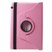 RMPACK Huawei MediaPad T5 10 Notesz Tok Forgatható 360' Kitámasztható Rózsaszín