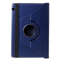 RMPACK Huawei MediaPad T5 10 Notesz Tok Forgatható 360' Kitámasztható Sötétkék