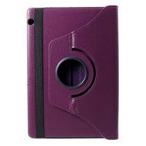 RMPACK Huawei MediaPad T5 10 Notesz Tok Forgatható 360' Kitámasztható Lila