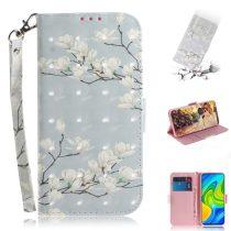 RMPACK Xiaomi Redmi Note 9 Tok Bankkártyatartóval Notesz Mintás Kitámasztható -RMPACK- Life&Dreams LD12