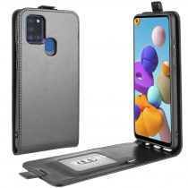 RMPACK Samsung Galaxy A21S Flip Tok Mágneses Fekete
