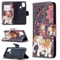 RMPACK Samsung Galaxy A21S Bankkártyatartóval Notesz Mintás Kitámasztható Dream Series DS03