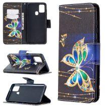 RMPACK Samsung Galaxy A21S Bankkártyatartóval Notesz Mintás Kitámasztható Dream Series DS06
