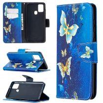 RMPACK Samsung Galaxy A21S Bankkártyatartóval Notesz Mintás Kitámasztható Dream Series DS08