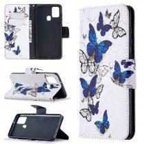RMPACK Samsung Galaxy A21S Bankkártyatartóval Notesz Mintás Kitámasztható Dream Series DS09
