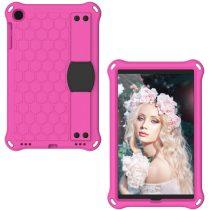 RMPACK Samsung Galaxy TAB A 10.1 (2019 ) Ütésálló Tok HoneyComb Series T515 T510 Pink