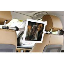 Autós Tablet Tartó Fejtámlára 360' Forgatható 7-11' Tablethez H55
