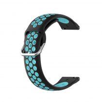 RMPACK Samsung Galaxy Watch 3 41mm Okosóra Szíj Pótszíj Óraszíj Hollow Style Fekete/Kék