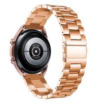 RMPACK Samsung Galaxy Watch 3 41mm Fémszíj Pótszíj Óraszíj Rózsaarany