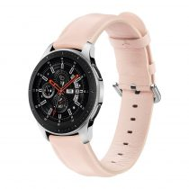 RMPACK Huawei Watch GT GT2 GT 2e Óraszíj Pótszíj 22mm Bőrszíj Style QU Rózsaszín