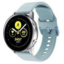 RMPACK Huawei Watch GT2e GT GT2 46mm Pótszíj Óraszíj Szilikon Szíj Elegant Series Világoskék