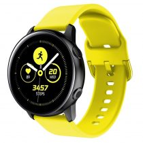 RMPACK Huawei Watch GT2e GT GT2 46mm Pótszíj Óraszíj Szilikon Szíj Elegant Series Sárga