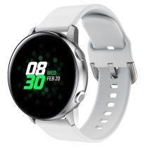 RMPACK Huawei Watch GT2e GT GT2 46mm Pótszíj Óraszíj Szilikon Szíj Elegant Series Fehér
