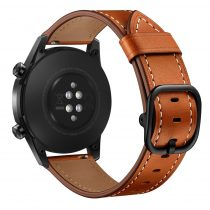 RMPACK Huawei Watch GT GT2 GT 2e Watch Magic Pótszíj Bőr Szíj Óraszíj Barna