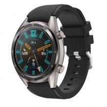 RMPACK Huawei Watch GT Sport Style Pótszíj Óraszíj Szilikon Fekete