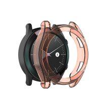 RMPACK Huawei Watch GT Védőkeret Szilikon Keret Narancssárga