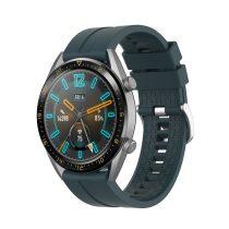 RMPACK Huawei Watch GT 46mm Szilikon Pótszíj Óraszíj Elegant-Sport Series Zöld/Kék