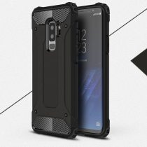 RMPACK Samsung Galaxy S9+ Ütésálló Armor Tok Guard Series 2in1 Fekete