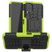 RMPACK Huawei P40 Lite Ütésálló Tok Kitámasztható 2in1 Hybrid Zöld