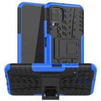 RMPACK Huawei P40 Lite Ütésálló Tok Kitámasztható 2in1 Hybrid Kék