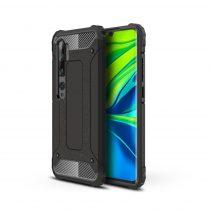 RMPACK Xiaomi Mi Note 10 Lite Ütésálló Armor Tok Guard Series 2in1 Fekete