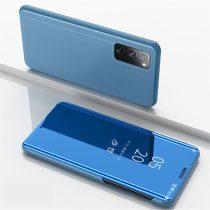 RMPACK Samsung Galaxy S20 FE View Window Notesz Tok Tükörfelülettel Világoskék