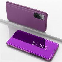 RMPACK Samsung Galaxy S20 FE View Window Notesz Tok Tükörfelülettel Lila