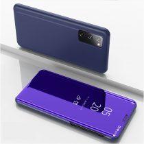 RMPACK Samsung Galaxy S20 FE View Window Notesz Tok Tükörfelülettel Sötétkék