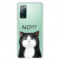 RMPACK Samsung Galaxy S20 FE Mintás Szilikon Tok TPU New Uniqueness NU12
